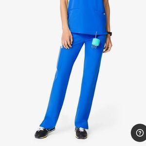 FIGS KADE cargo scrub pants royal blue